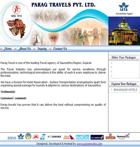 Parag Travels