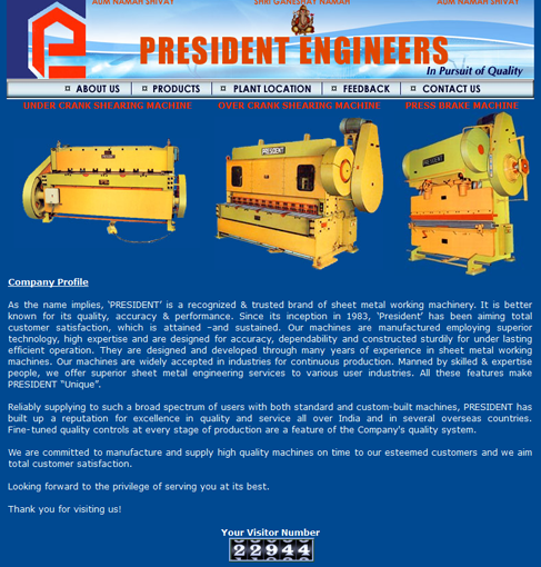 President Engineers