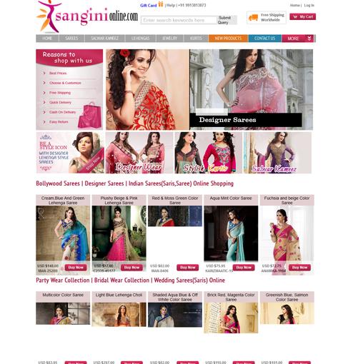 Sangini Online Store
