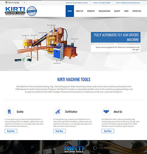Kirti Machine Tools